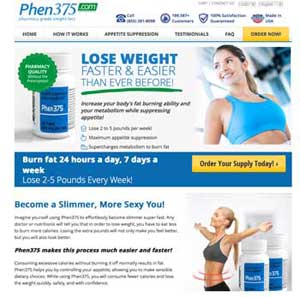 Phen375 official website