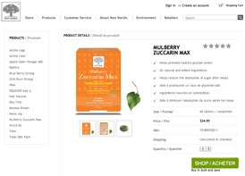 Order Mulberry Zuccarim Max from canada