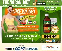 Yacon diet website