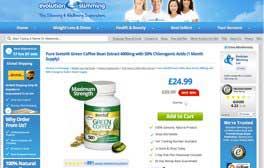 Svetol evolution Slimming website