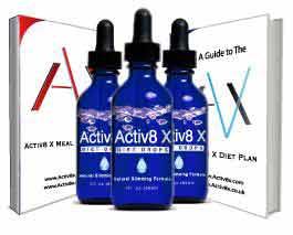 Activ8 X diet drops