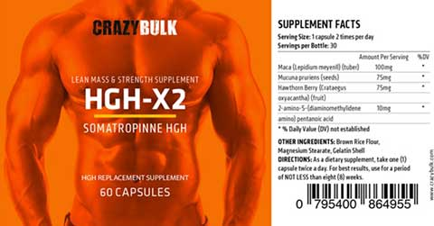 HGHx2 Ingredients