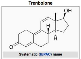 Trenbolone steroid