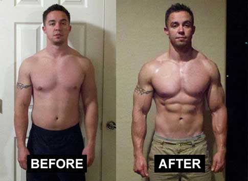 Clenbutrol before and after