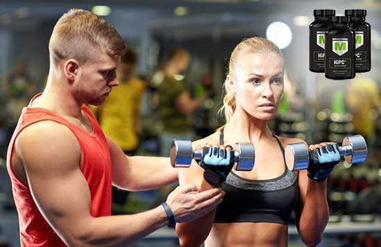 Woman and Muscletronic iGPC