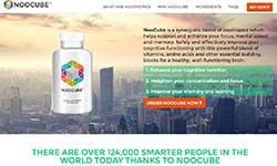 Noocube website