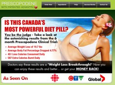 Prescopodene website canada