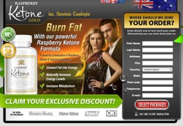 official Ketone Gold website