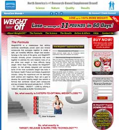 WeightOFF website Canada and US